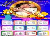 Calendário 2015 Simpsons