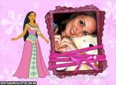 A Pocahontas Vestido Rosa