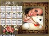 Moldura Calendário 2014