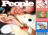 Moldura Revista People