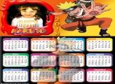 Calendário 2018 Naruto