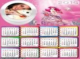 Calendário Princesa Sofia Sereia 2016