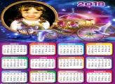 Calendário 2018 Carruagem