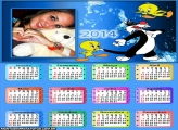 Calendário 2014 Frajola