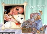 Boa Noite Ursinho Moldura