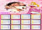 Calendário 2017 Princesa Aurora