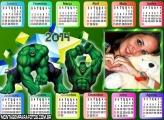 Calendário 2014 do Hulk
