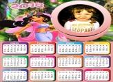 Calendário 2018 Jasmine Princesa
