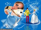 Cinderella e Príncipe Moldura