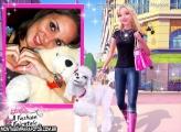 Moldura Barbie e Poodle