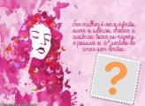 Moldura Cartão Dia da Mulher