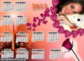 Calendário Uma Rosa 2013