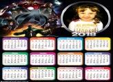 Calendário 2018 Os Vingadores