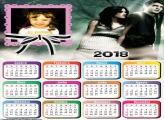 Calendário 2018 Crepúsculo Bella e Eduward