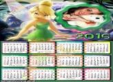 Calendário Tinker Bell 2016 Fadinha