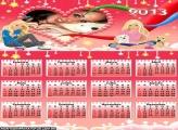 Calendário Loirinhas 2013