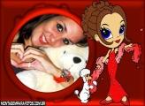 Garota Elegante e Poodle