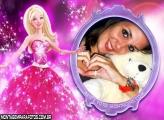 Moldura Magia Barbie