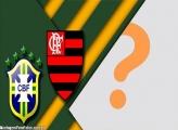 Brasil Flamengo Moldura