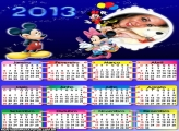 Calendário Minie Disney 2013