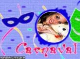 Moldura Carnaval Mascarás