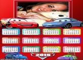 Calendário 2015 Filme Carros