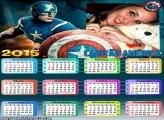Calendário 2015 Capitão América