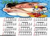Calendário Boneco Wow 2013