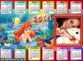 Calendário Horizontal 2014 Ariel