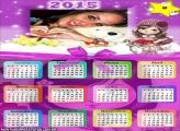 Calendário 2015 da Jolie