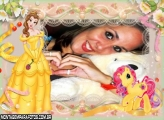 Moldura Princesa My Litter Ponny