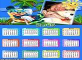 Calendário 2015 Mickey Praia