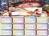 Calendário 2017 Natal da Neve