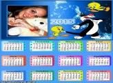 Calendário 2015 Frajola e PiuPiu