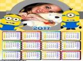Calendário 2017 Minions Desenho
