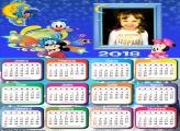 Calendário 2018 Bebês Baby Disney