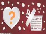 O Meu Amor por Você Dia dos Namorados