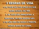 3 Regras de Vida