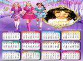 Calendário 2018 Barbie Escola