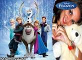 Moldura Frozen Filme