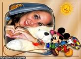 Moldura Mickey Turista