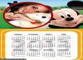 Cara do Mickey Calendário 2013