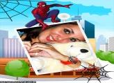 Moldura Spider Man Desenho