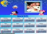 Calendário Bebê Mickey 2013