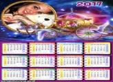 Calendário 2017 Fantasia Magia