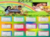 Calendário 2015 das Fadinhas