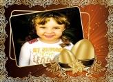 Montar Foto Ano Novo Dourado