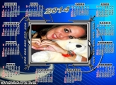Calendário 2014 Simples