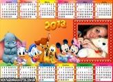 Calendário Baby Disney 2013