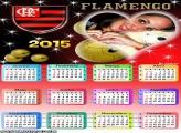 Calendário 2015 Flamengo Coração